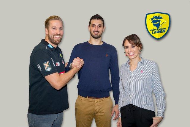 Oliver Roggisch (Sportlicher Leiter), Ilja Abutovic, Jennifer Kettemann (Geschäftsführerin)