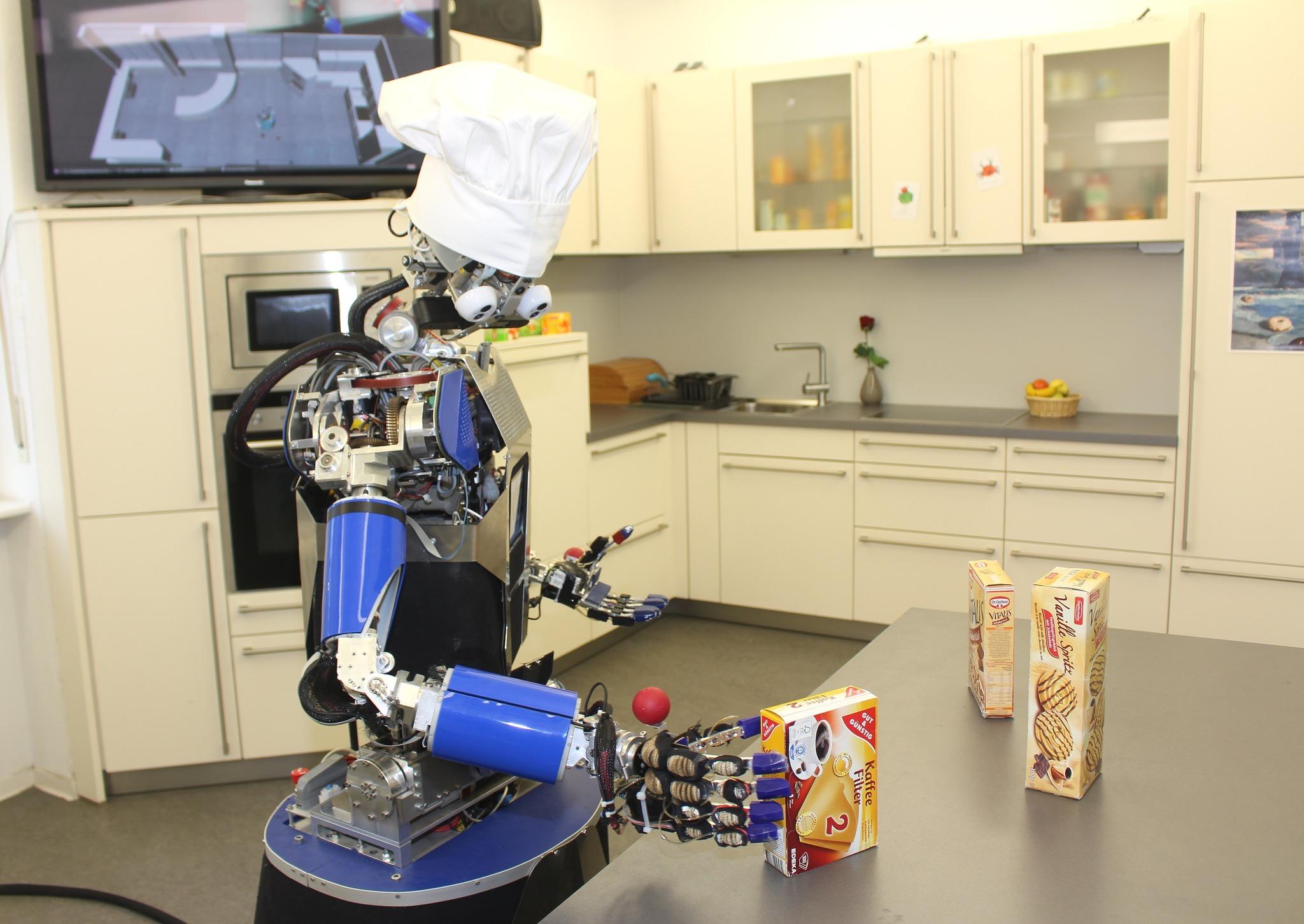 Am KIT wird Küchen-Roboter entwickelt / Selbstständige ...