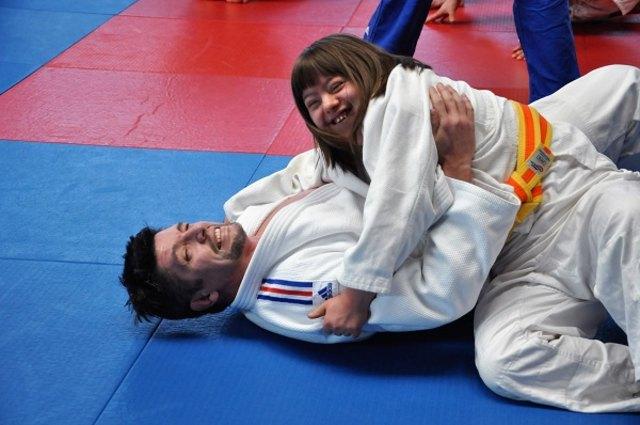 Internationaler Lehrgang im Judomaxx.