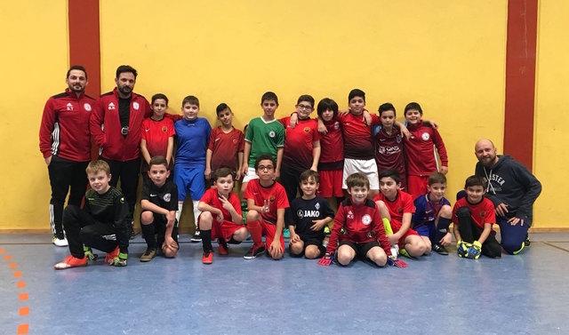 Die E2-Junioren des FSV Oggersheim freuen sich auf das Turnier.