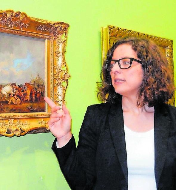 In ihrer Zeit als Kuratorin in der Alten Post setzte Cecile Prinz auch in der Bürkel-Galerie neue Akzente. Foto: Kling