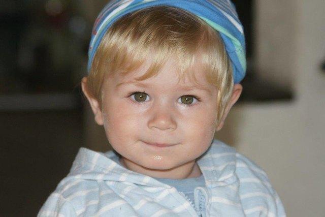 Der zweijährige Colin  leidet unter einer seltenen Immunkrankheit.