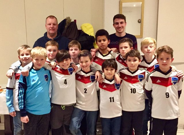 Die E-Jugend des SFC Kaiserslautern.