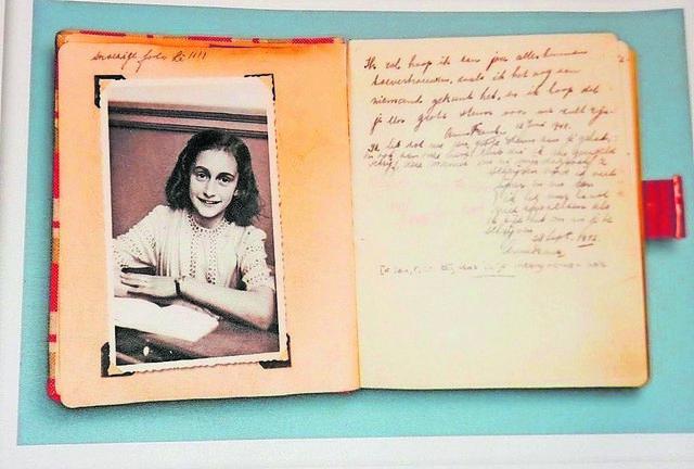 Zum 13. Geburtstag bekam Anne Frank ein Tagebuch, das heute als historisches Zeitzeugnis gilt. Foto: Kling