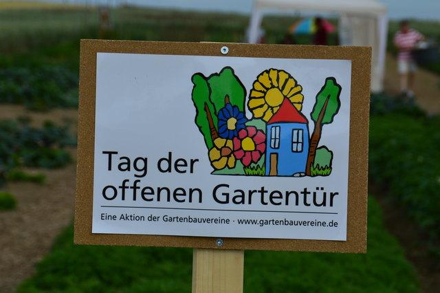 Auch in diesem Jahr gibt es einen Tag der offenen Gartentür. Jeder kann sich an der Aktion beteiligen.