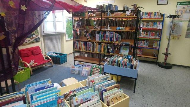 Stadtbibliothek Mannheim Friedrichsfeld Kinderecke
