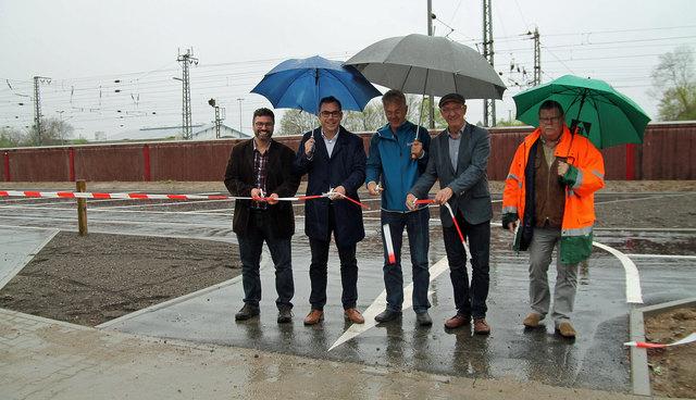 Nach nur etwas über zwei Monaten Bauzeit wurde am Freitag, 13. April, der neue Parkplatz in Betrieb genommen.