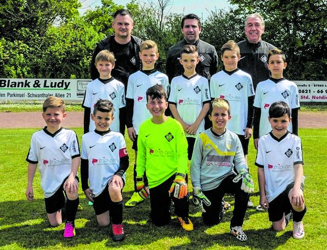 Die E-Jugend des FC Arminia 03 Ludwigshafen.