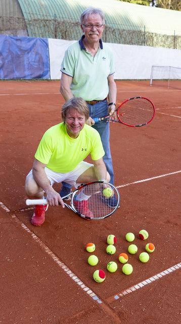 Wolfgang Eggers, Präsident, und Thomas Knieriemen,  Geschäftsführer des Tennisverbandes Pfalz e.V.