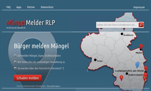 Ab sofort ist der MängelMelder RLP auch in der VG Römerberg-Dudenhofen nutzbar.