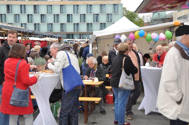 Großer Andrang beim letztjährigen Wochenmarktfest