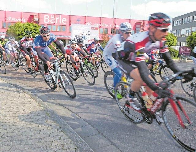 Radrennen hautnah: am Sonntag, 22. April, ab 10 Uhr in den Stegwiesen in Bruchsal