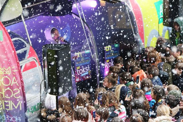 Konzert im Schnee