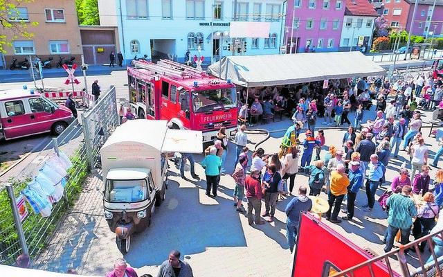 Gute Unterhaltung und viel Wissenswertes bietet der  Tag der offenen Tür der Seckenheimer Feuerwehr.