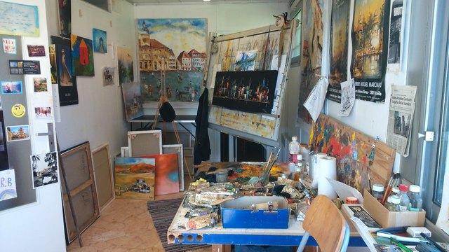 Künstler aus der Region Wissembourg laden herzlich ein, einen Blick in ihr Atelier zu werfen.