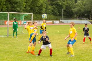 Spiel um Platz 3 in Landau: Schweden gegen Serbien oder JFV Südwest Löwen versus FV Neuburg.