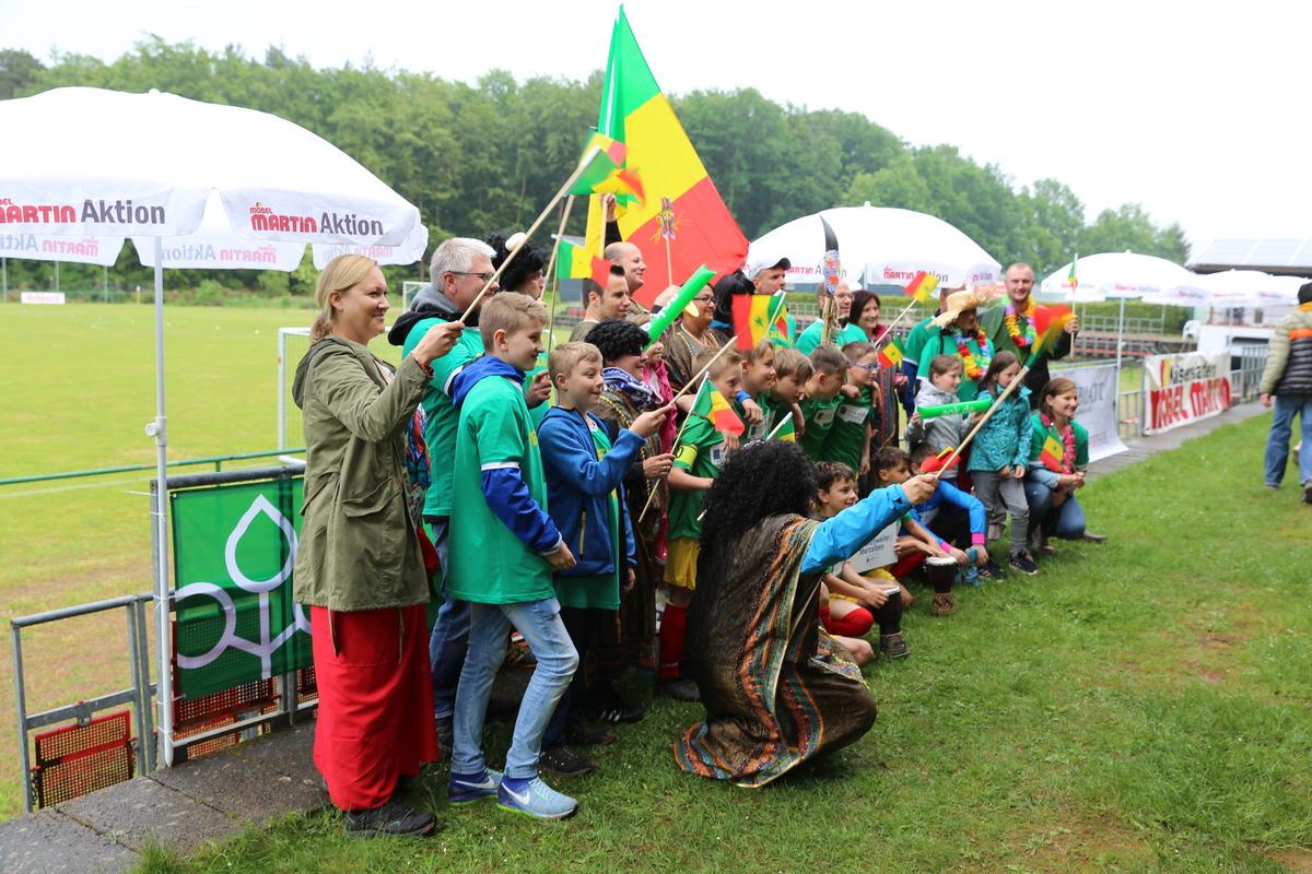 Fotosession der Senegal-Mannschaft