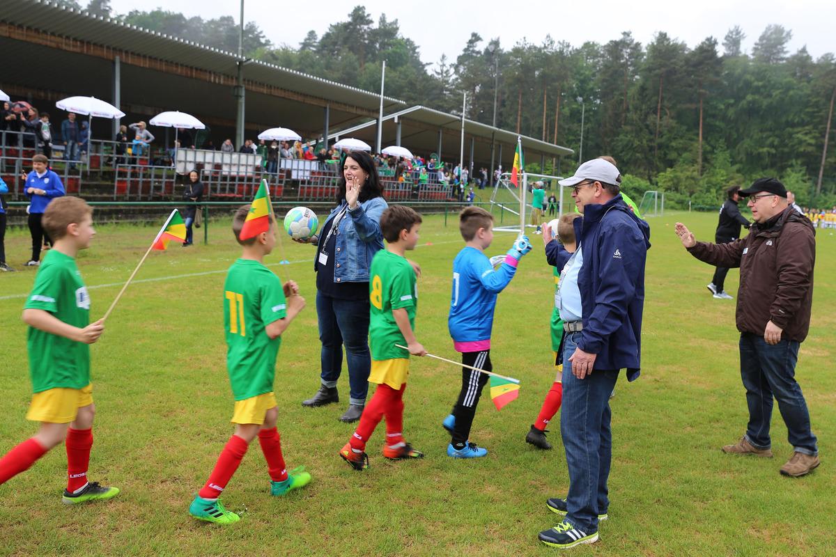 JSG Münchweiler-Merzalben tritt für Senegal an