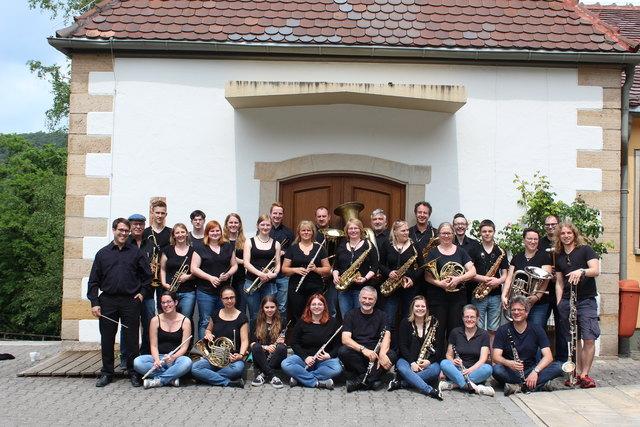 Das Moderne Blasorchester Kurpfalz-Oppau tritt am 26. Mai auf.