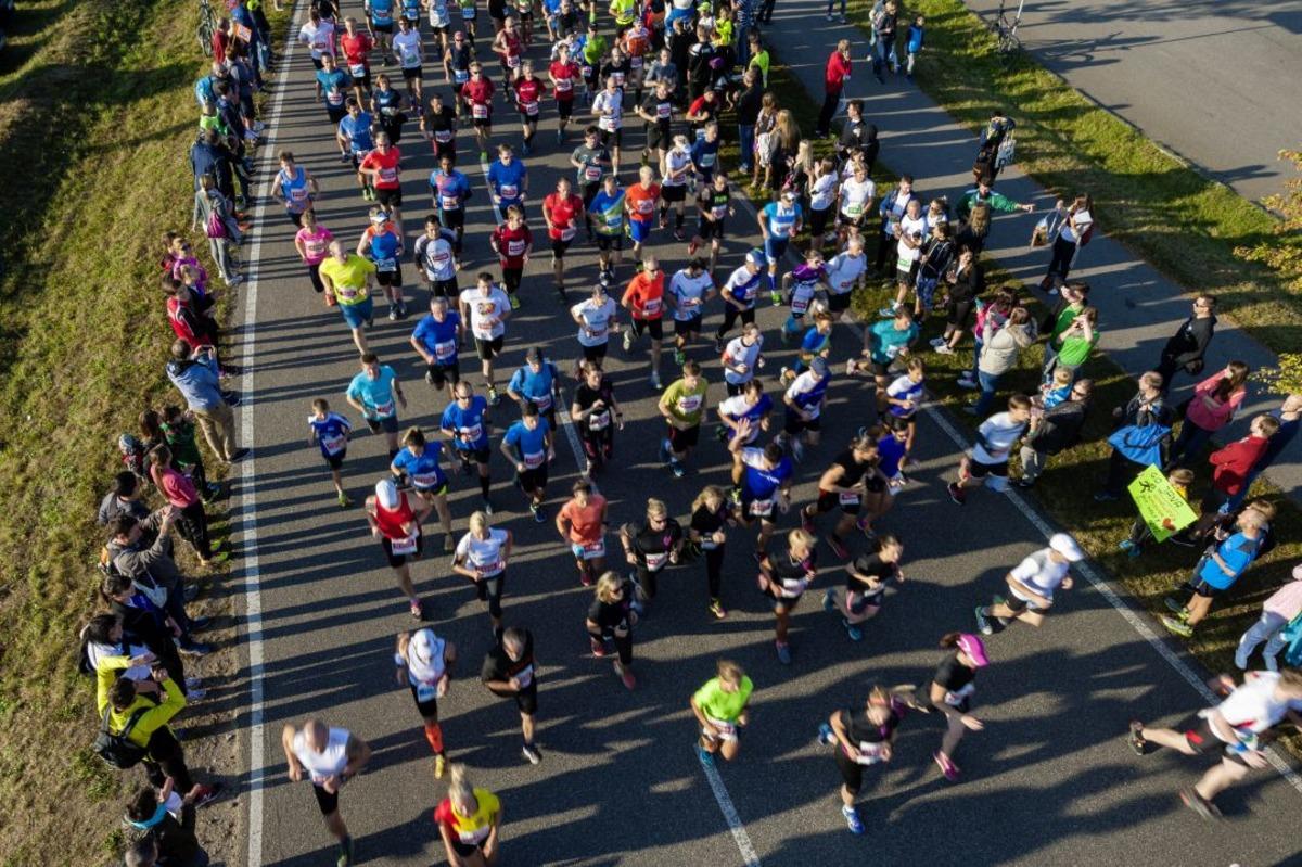 """Beim """"Fiducia & GAD Baden-Marathon"""" in der Region unterwegs"""