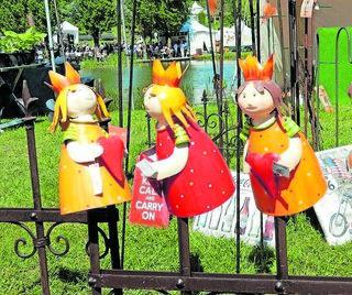 Schmucke Schönheiten: Welche Prinzessin hat beim Publikum wohl die Nase vorn? Foto: Kling