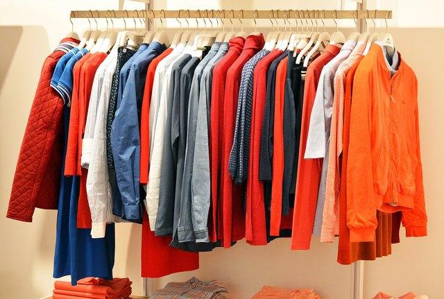 Der Einzelhandel verzeichnete auch im Bereich Bekleidung ein leichtes Plus. (Symbolbild)