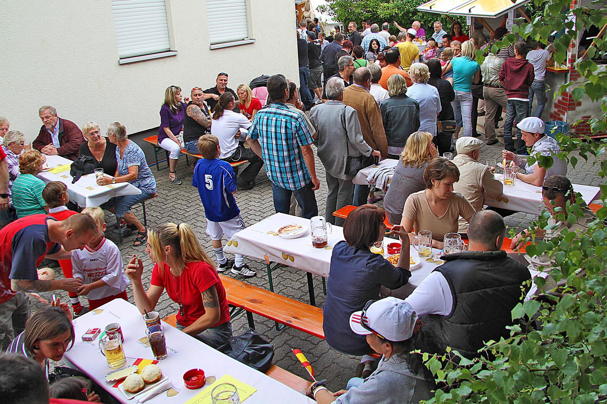 Musikverein lädt an Pfingsten ein: Augustinerfest im Gemeindehof ...