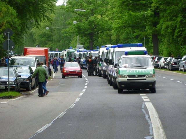 Polizei-Einsatz am Karlsruher Wildparkstadion
