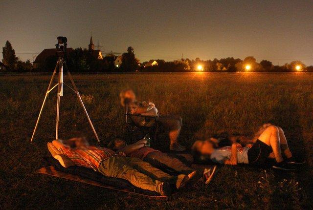 Sternschnuppen Gucken Mit Den Astronomiefreunden Waghausel