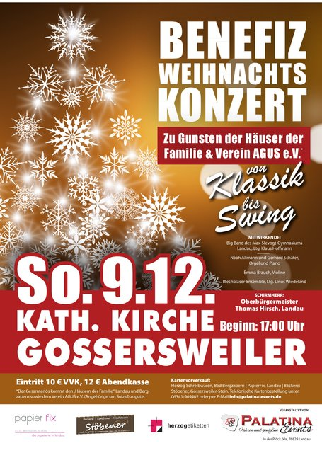 Klassik Bis Swing Am 9 Dezember In Gossersweiler Zugunsten Des
