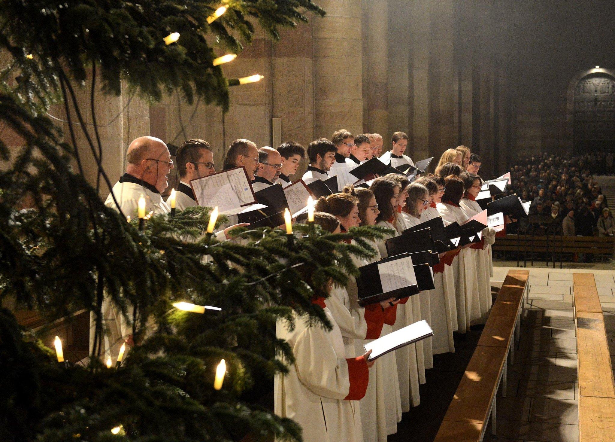 Advent und Weihnachten am Dom zu Speyer: Raum für Andacht ...