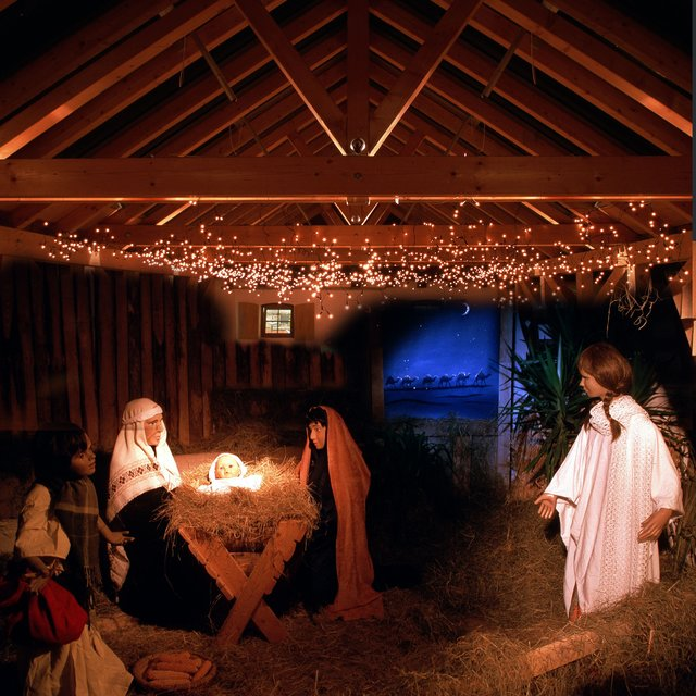 Große Krippe Ist Begehbar Weihnachtssingen Im Bauernhof Zeiskam