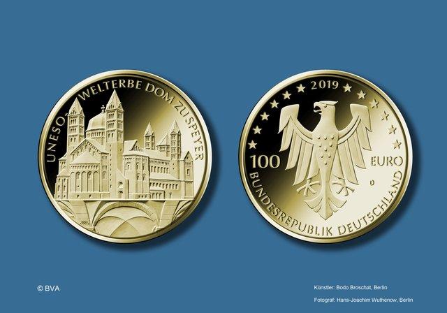 Sammlermünze Würdigt Dom Als Herausragendes Kulturdenkmal 100 Euro