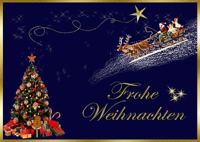 Frohe Weihnachten Und Guten Rutsch In Neues Jahr.Frohe Weihnachten Und Einen Guten Rutsch Ins Neue Jahr Bad