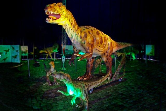 Das größte Modell der Ausstellung ist 8 Meter hoch und 32