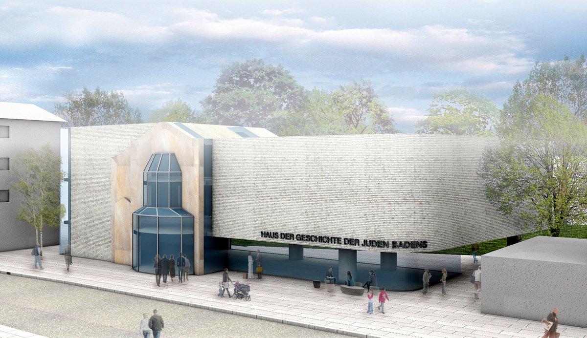 Ein erster Entwurf für ein Haus der Geschichte der Juden Badens in der Bruchsaler Friedrichstraße. © Erwin Weil