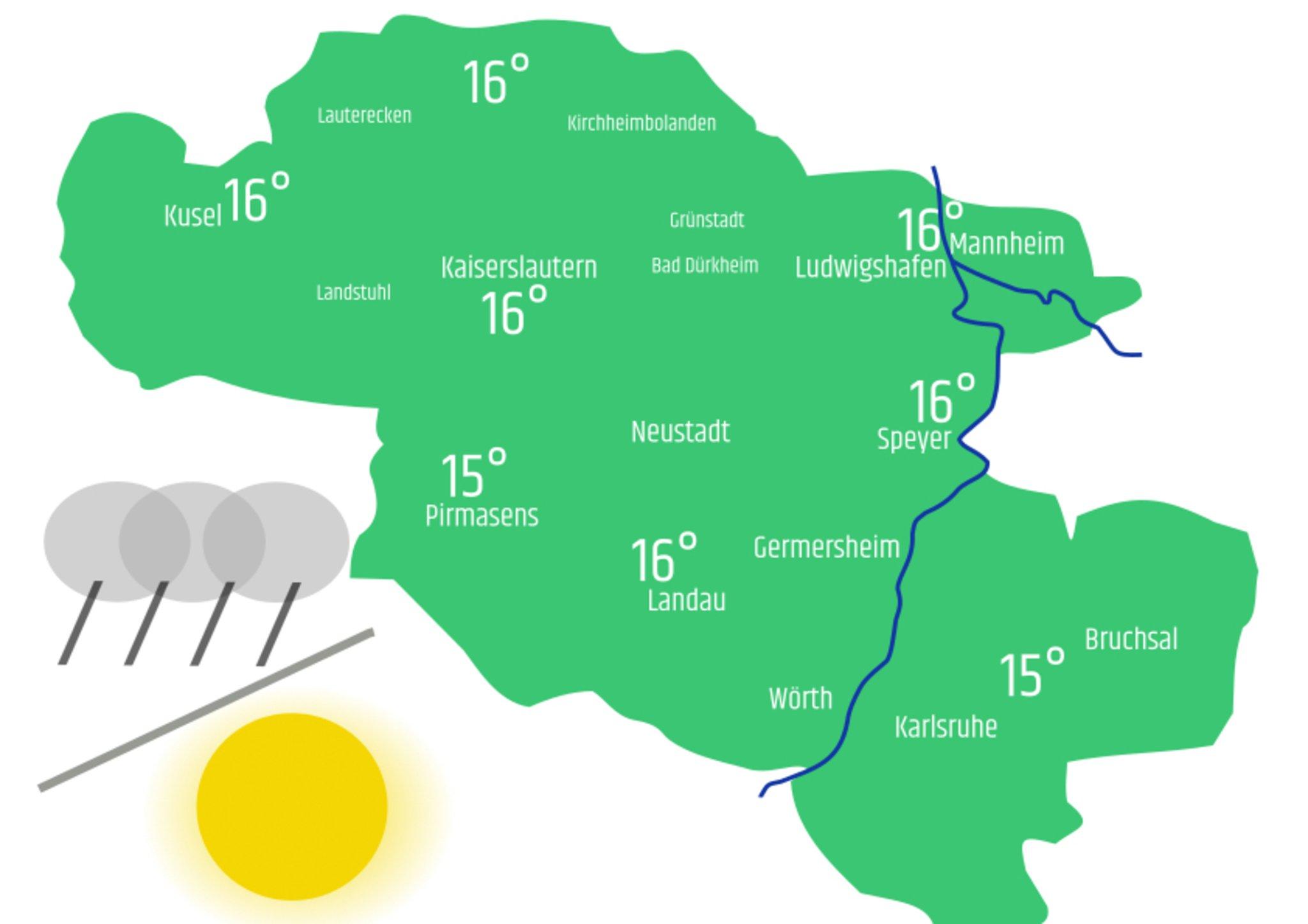 Wetter Landau In Der Pfalz 7 Tage