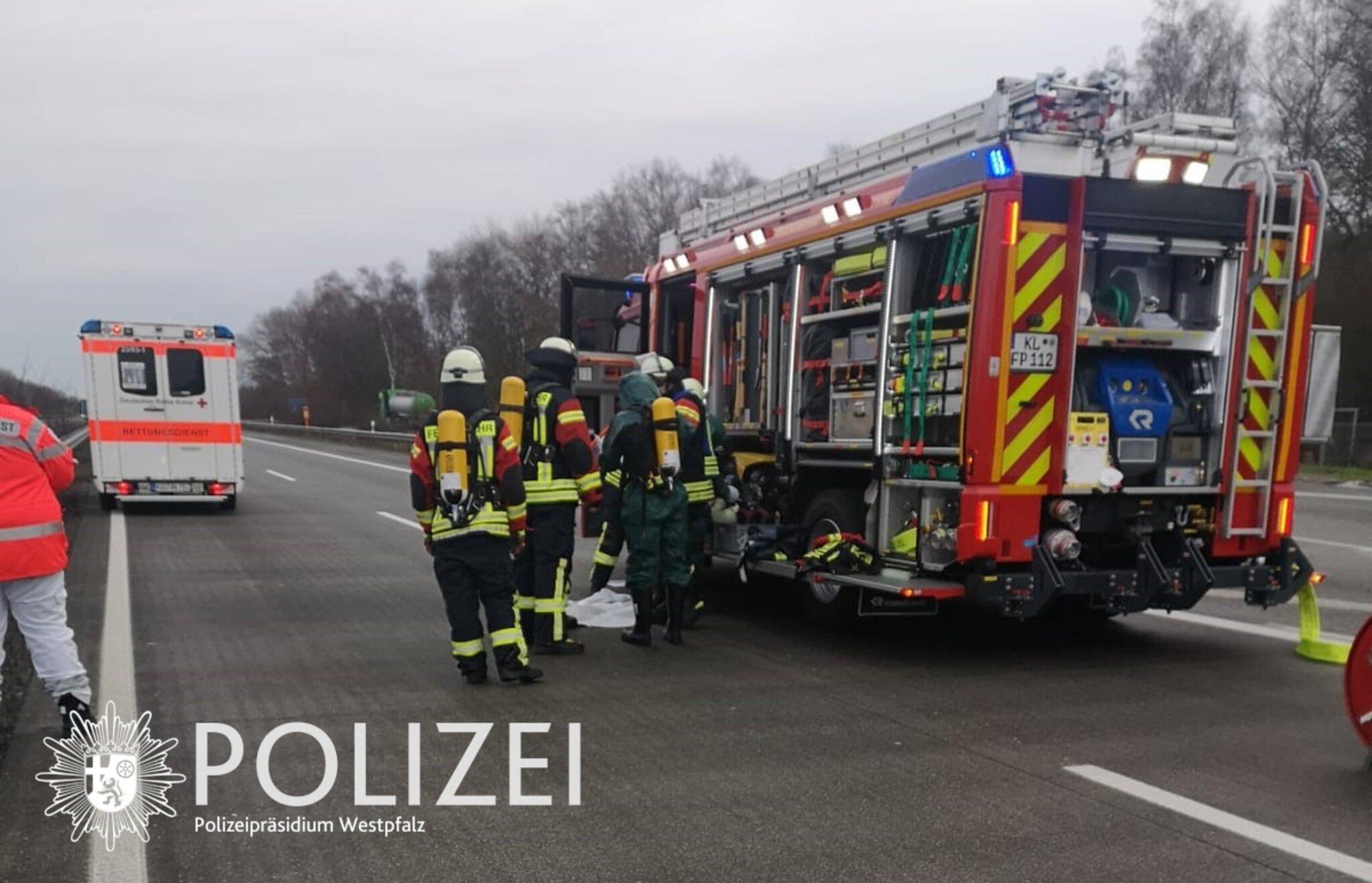 Vollsperrung A6 Kaiserslautern